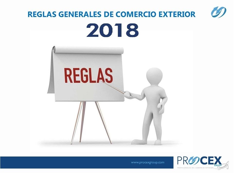Procex group noticias - Reglas generales de comercio exterior 2017 ...